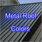 Metal Roof Colors