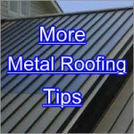 Steel Roofing Tips